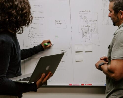SIGMA-Appraisal-two-people-brainstorming-on-whiteboard